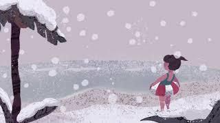 真冬の海水浴